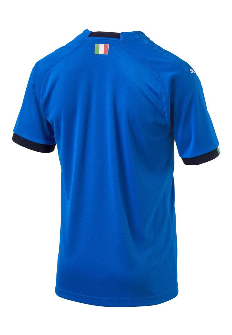 Puma Italien Herren Heim Trikot 2018/19 blau/dunkelblau