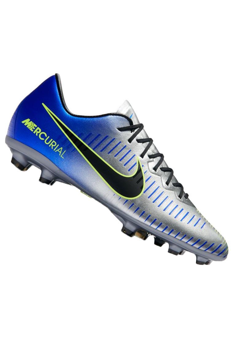 Nike Kinder Fußballschuh Mercurial Vapor XI Neymar Jr. FG dunkelblau/silber