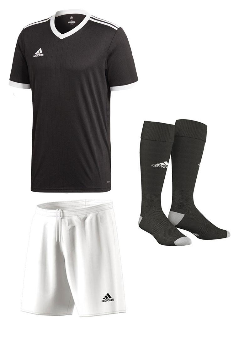 adidas Dressenset Tabela 18 schwarz/weiß