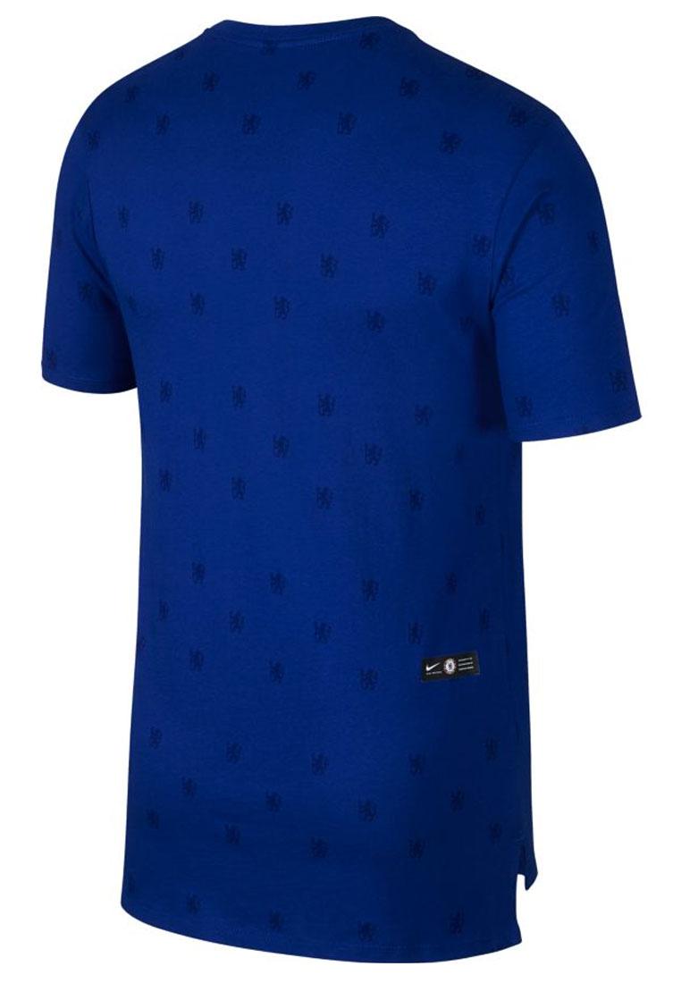 Nike Chelsea FC Shirt Tee Squad blau/weiß
