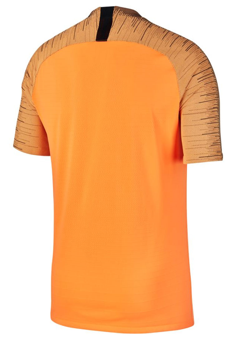 Nike Trainingsshirt VaporKnit Strike Top SS orange/schwarz