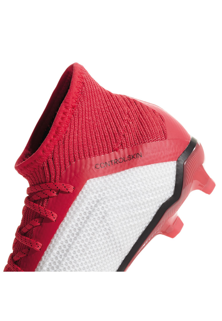 adidas Kinder Fußballschuh Predator 18.1 FG J weiß/rot