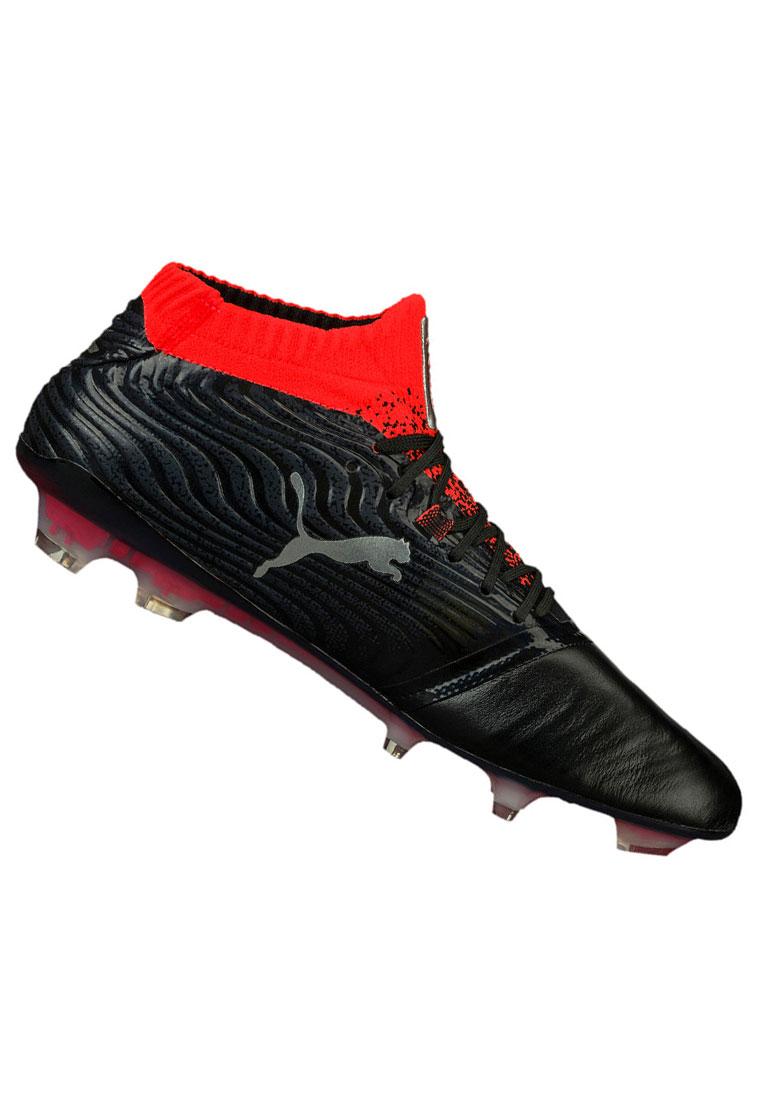 Puma Fußballschuh One 18.1 FG schwarz/rot
