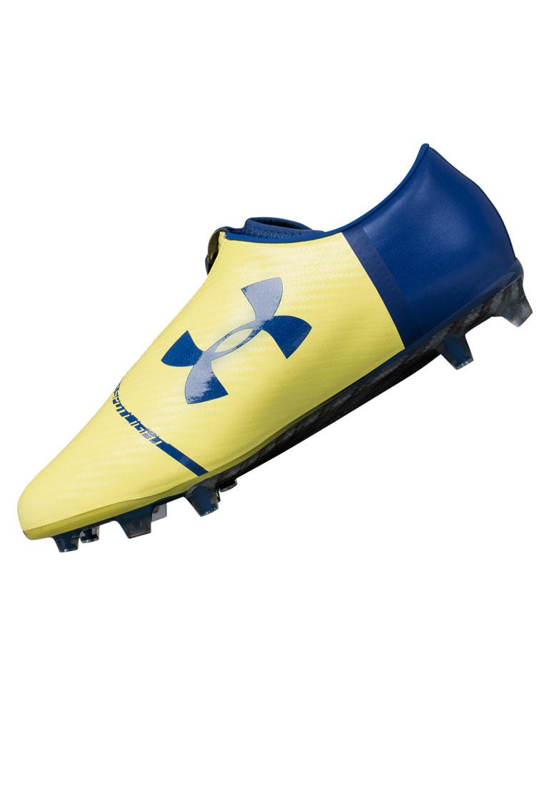 Under Armour Fußballschuh Spotlight FG dunkelblau/gelb