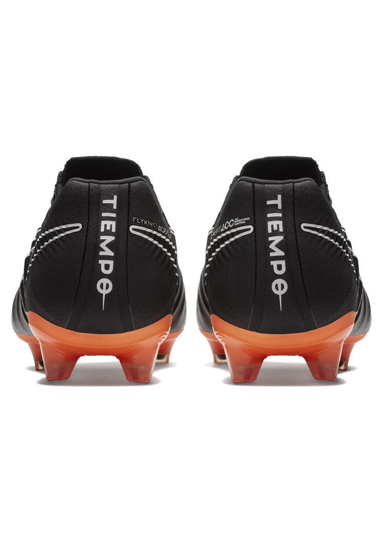 Nike Fußballschuh Tiempo Legend VII Elite FG schwarz/orange