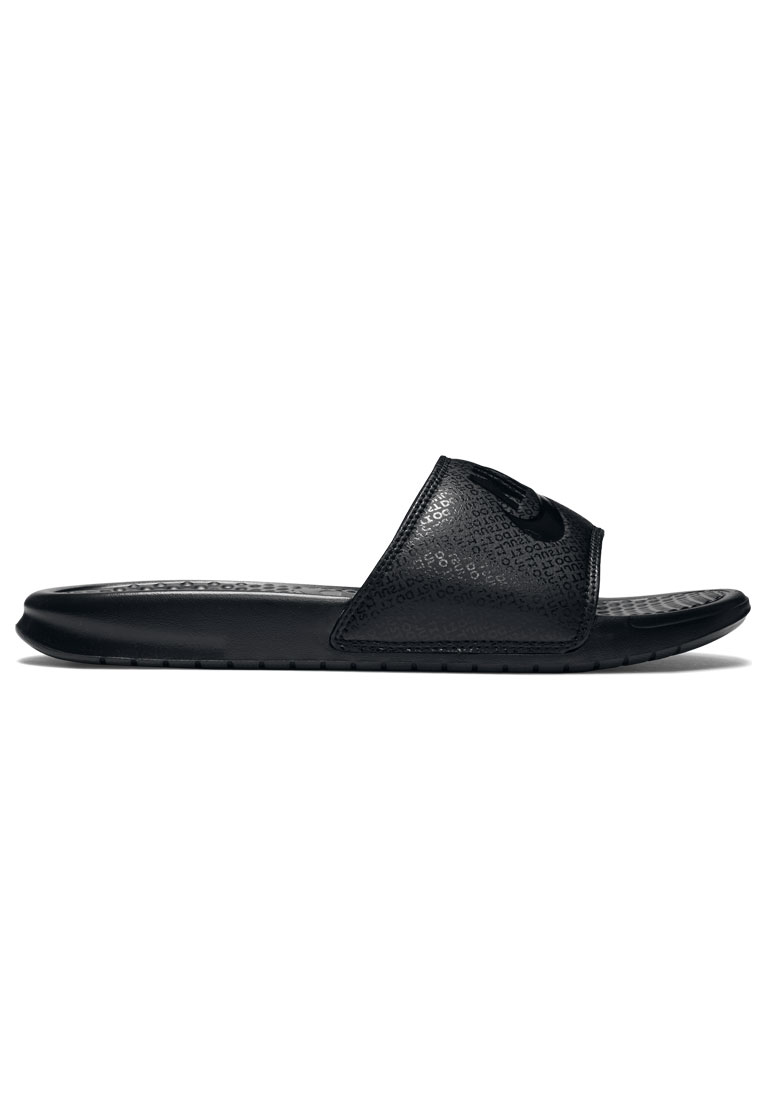 "Nike Badesandalen Benassi ""Just Do It"" schwarz"
