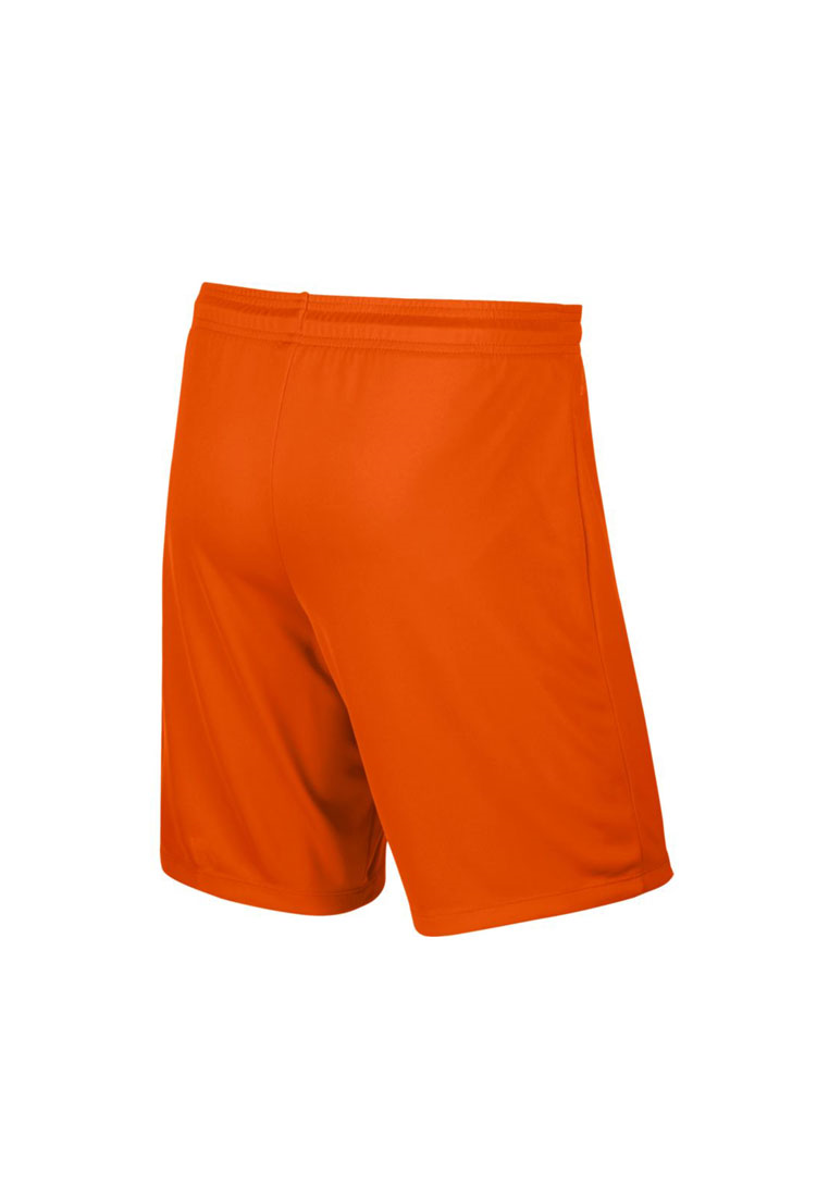 Nike Kinder Short Park II Knit ohne Innenslip orange/schwarz