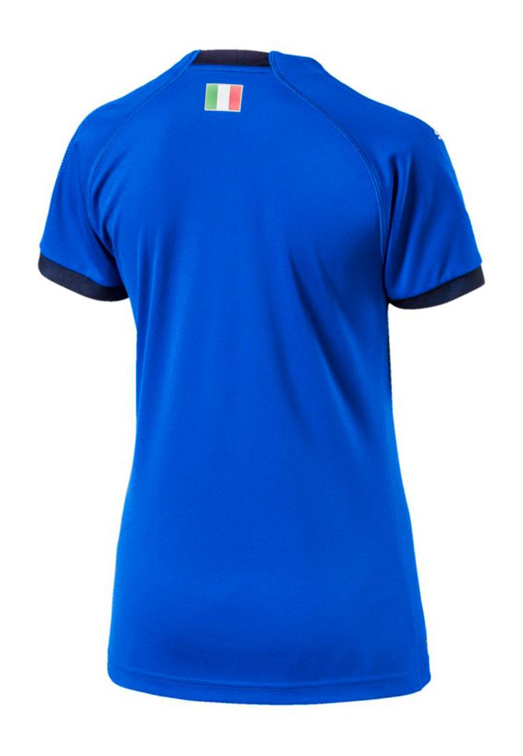 Puma Italien Damen Heim Trikot 2018/19 blau/dunkelblau