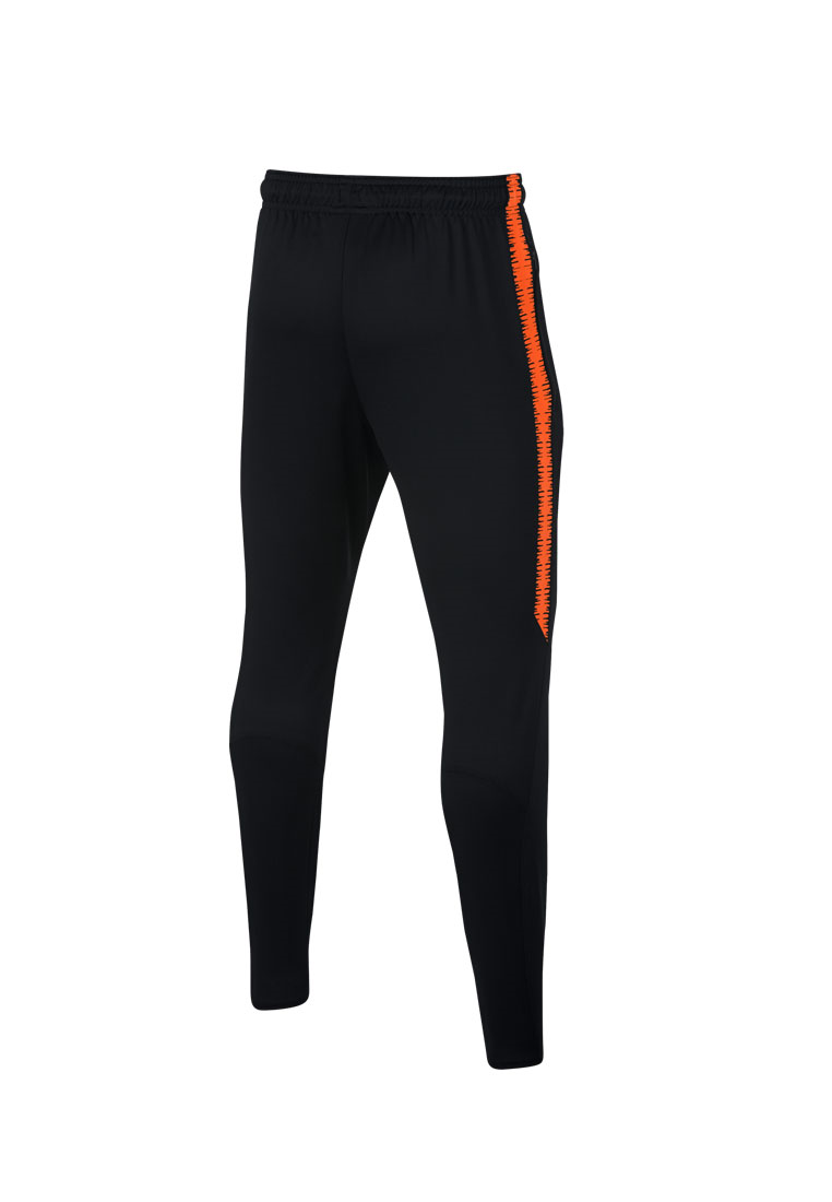 Nike Niederlande Kinder Trainingshose Squad Pant schwarz/orange