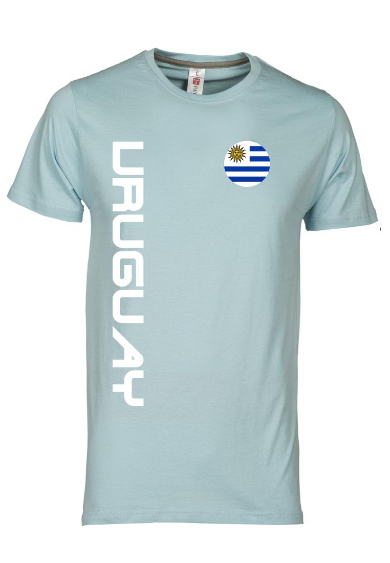 geomix Uruguay Shirt Uruguay hellblau/weiß
