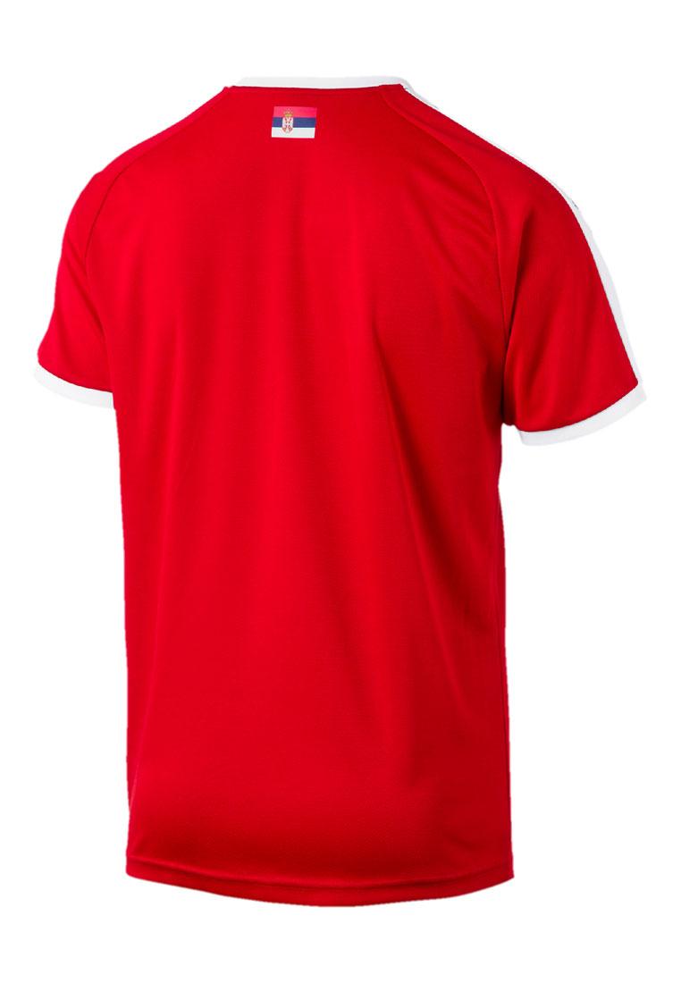 Puma Serbien Herren Heim Trikot 2018/19 rot/weiß