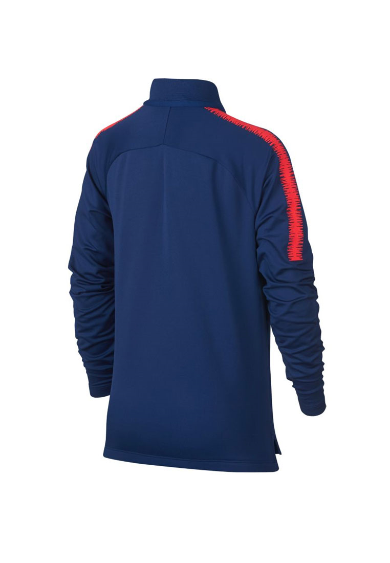 Nike Atlético Madrid Kinder Trainingsoberteil Squad Drill Top blau/rot