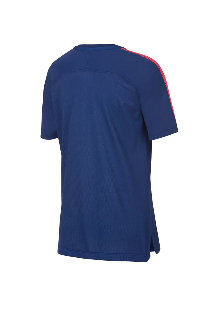 Nike Atlético Madrid Kinder Trainingsshirt Breathe Squad Top blau/rot