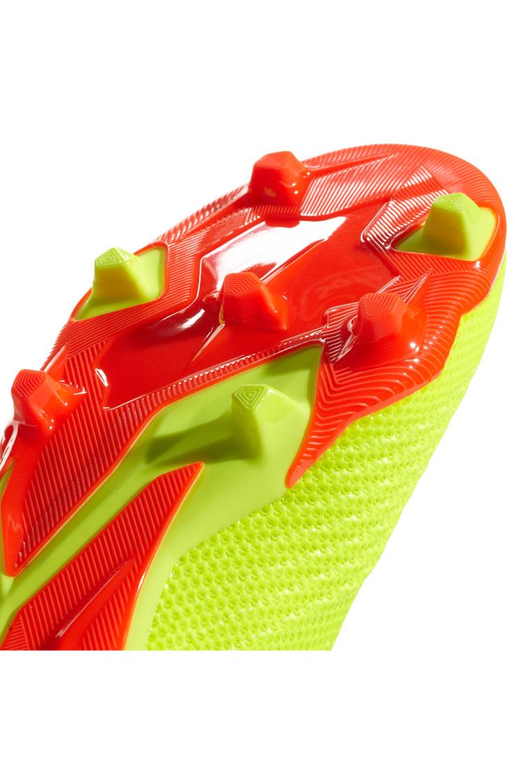 adidas Kinder Fußballschuh Predator 18.1 FG J gelb fluo/rot