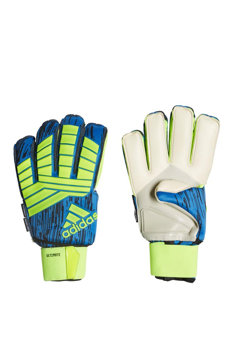 adidas Torwarthandschuhe Predator Ultimate gelb fluo/blau