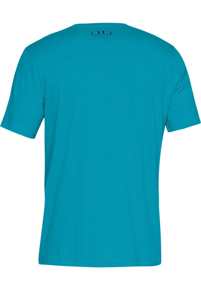 Under Armour Shirt Sportstyle Left Chest SS petrol/schwarz