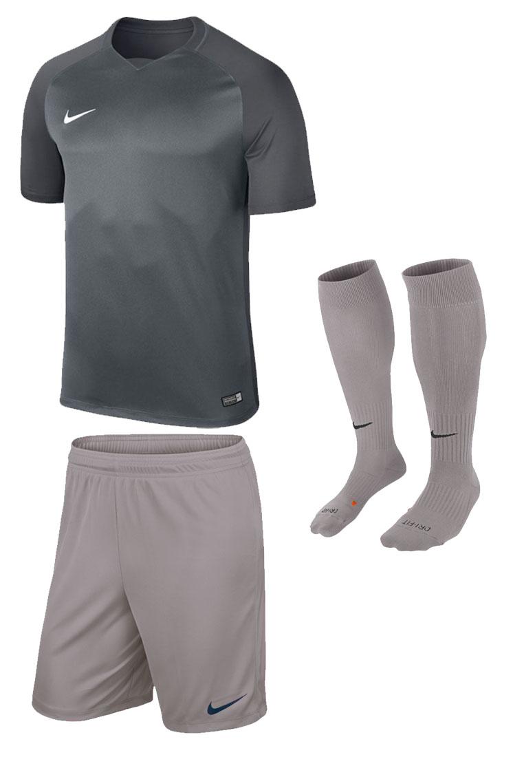 Nike Dressenset Trophy grau/weiß