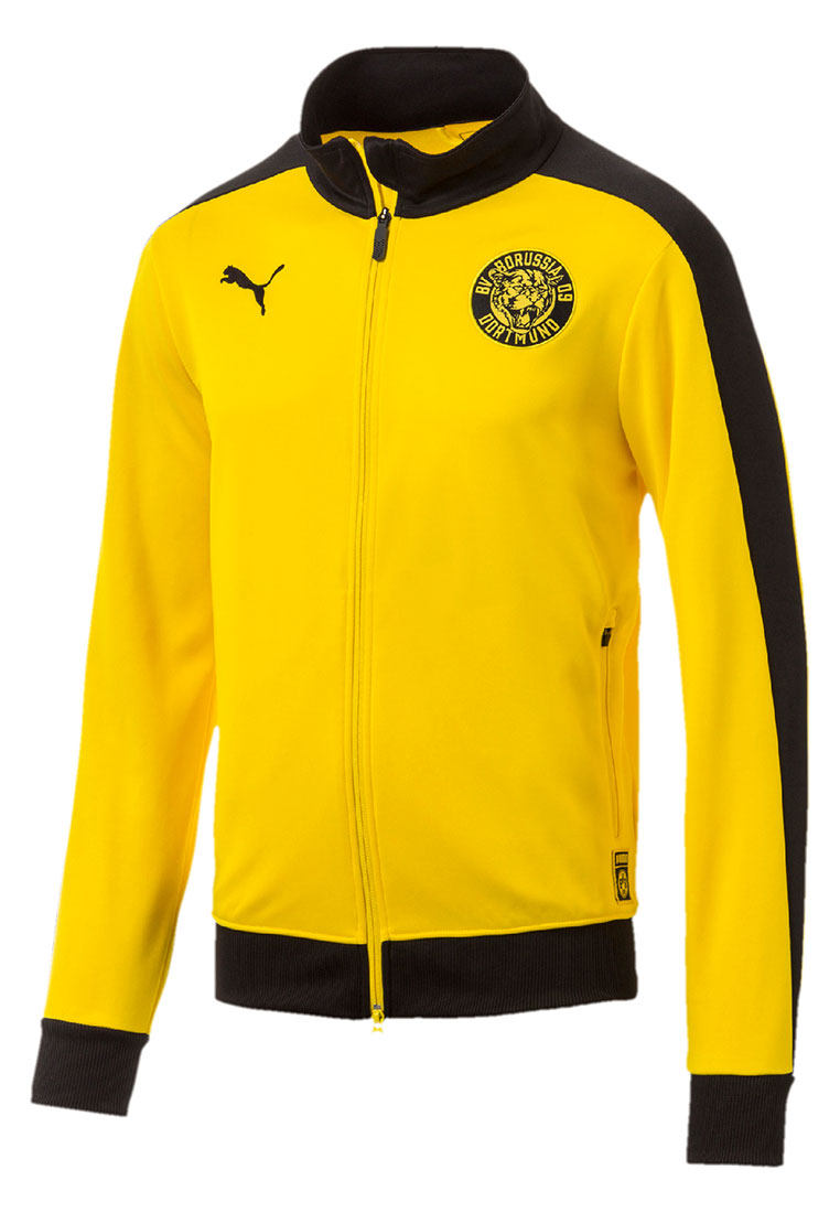 Puma BVB Trainingsjacke T7 Track Jacket gelb/schwarz