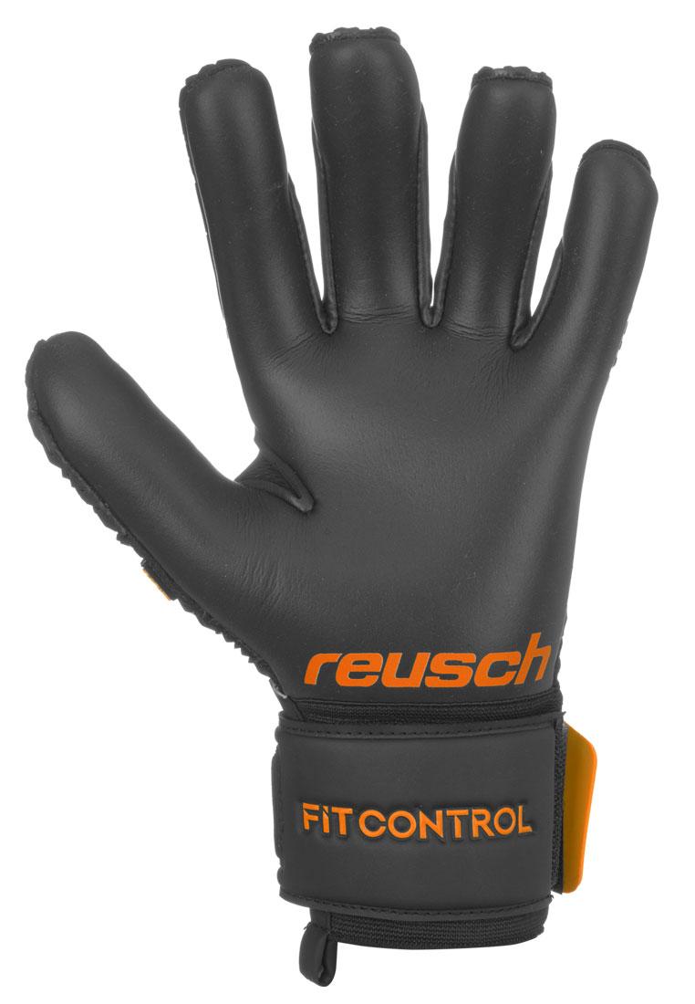 Reusch Torwarthandschuhe Fit Control Freegel S1 mit geomix Logo schwarz/orange