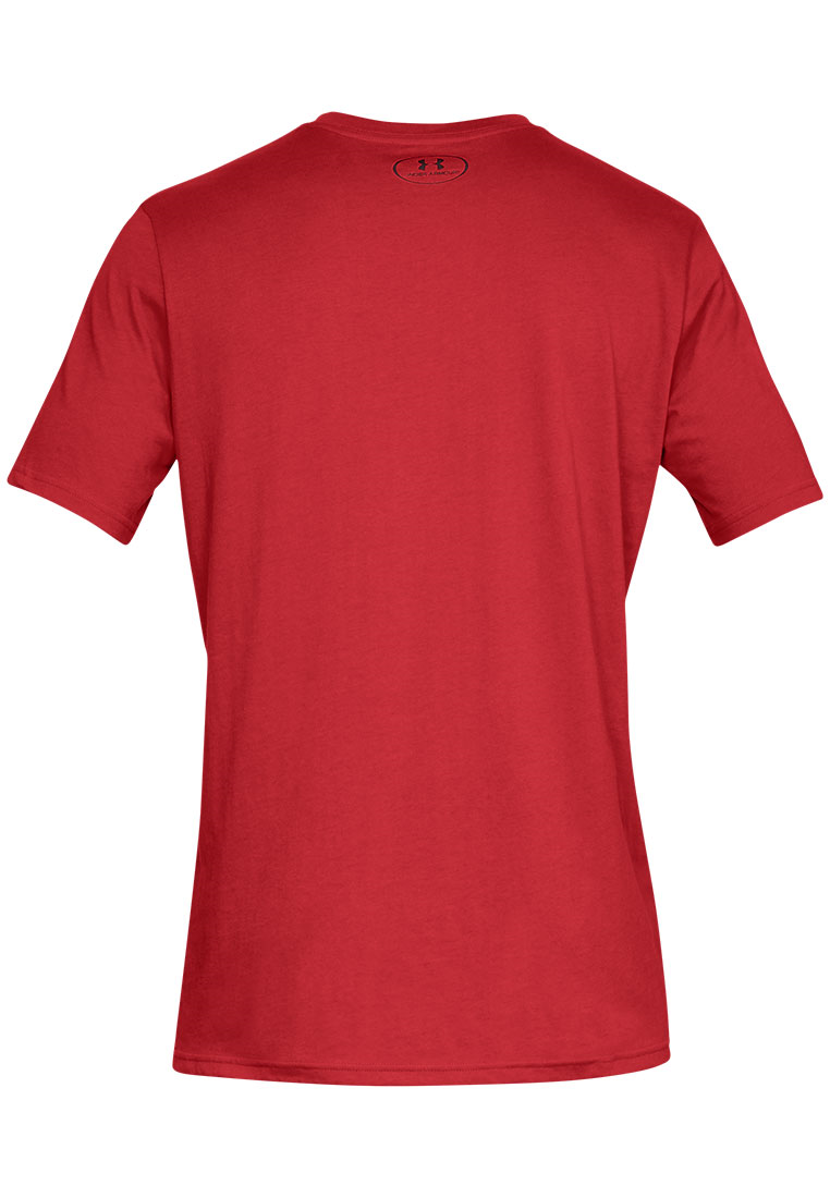 Under Armour Shirt Boxed Sportstyle SS rot/grau