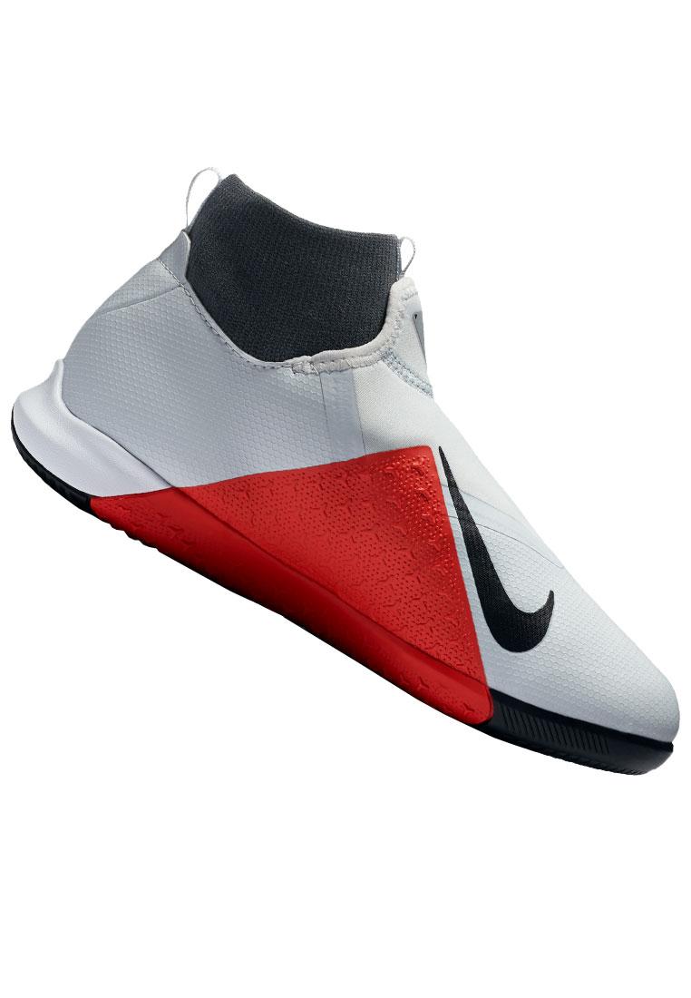 81e46991f238da Nike Kinder Hallenschuh Phantom III Vision JR Academy DynamicFit IC grau rot