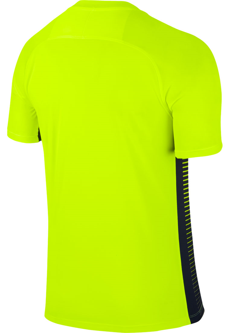 Nike Trikot Precision IV SS Jersey gelb fluo/dunkelblau