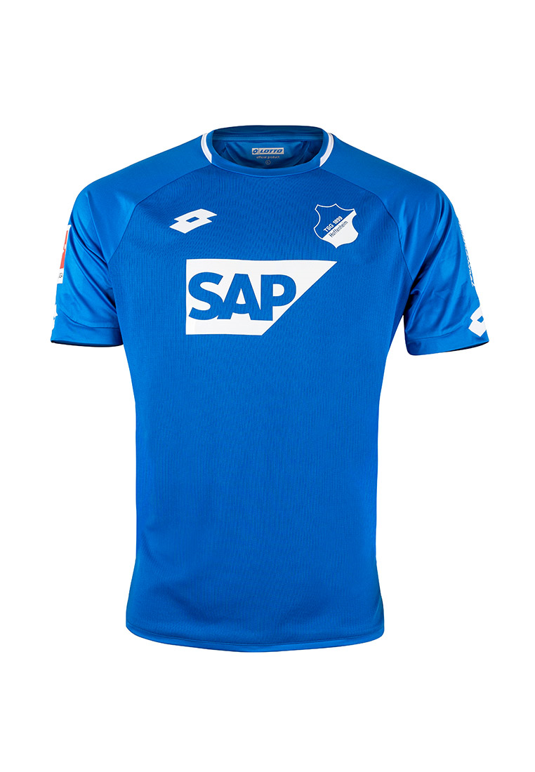 Lotto TSG 1899 Hoffenheim Kinder Heim Trikot 2018/19 blau/weiß