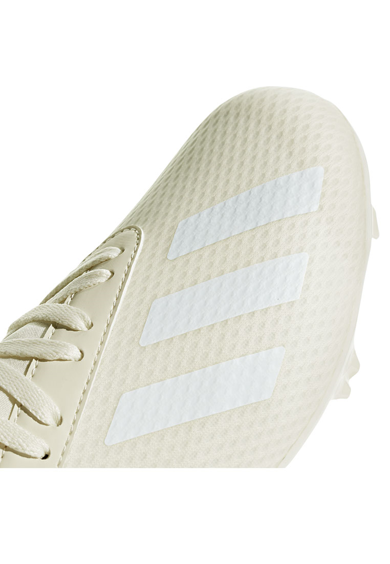 adidas Kinder Fußballschuh X 18.3 FG J weiß/creme