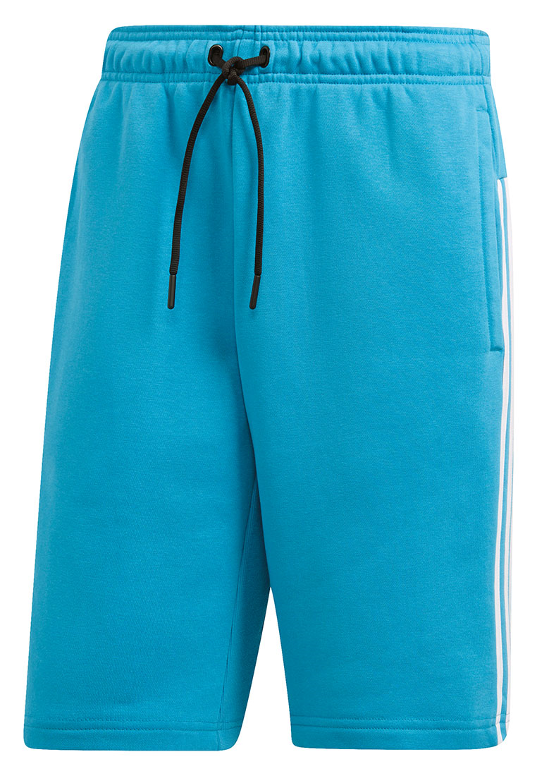 adidas Short Must Haves 3 Stripes hellblau/weiß