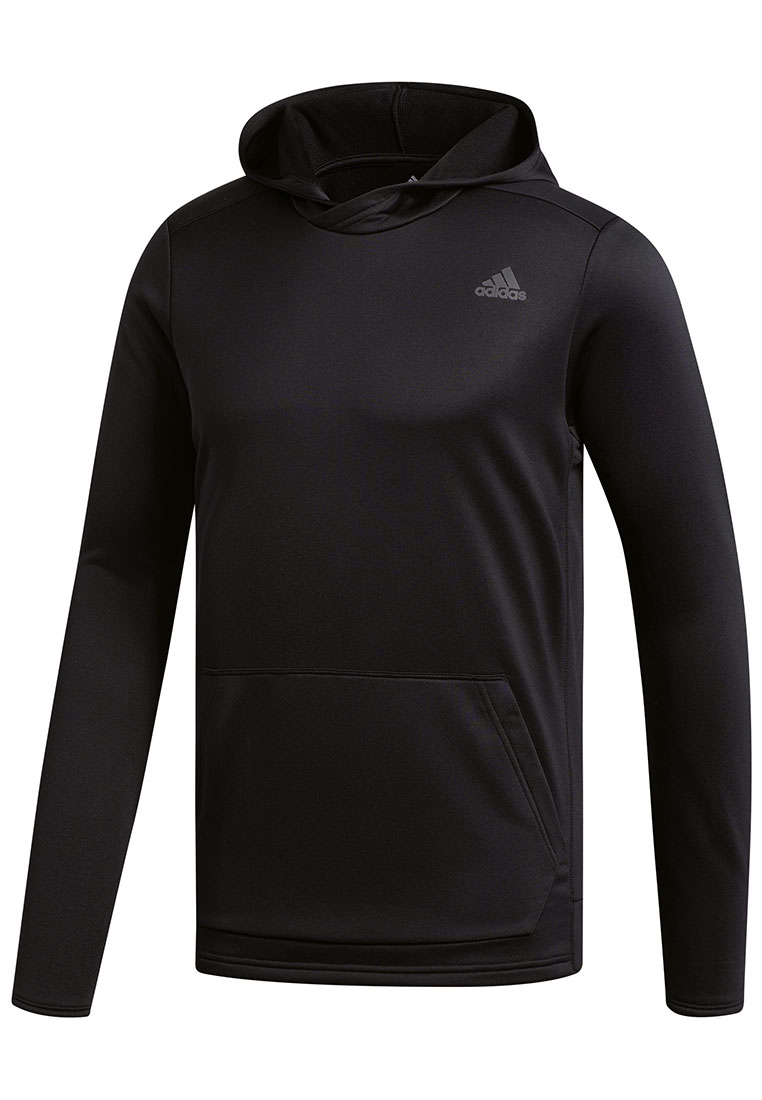 "adidas Langarm Kapuzenlaufshirt ""Own the Run"" Hoody schwarz/anthrazit"