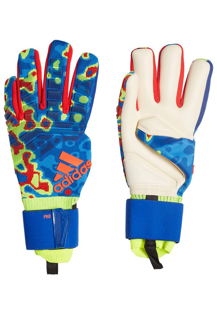 adidas Torwarthandschuhe Predator Pro Manuel Neuer blau/gelb fluo