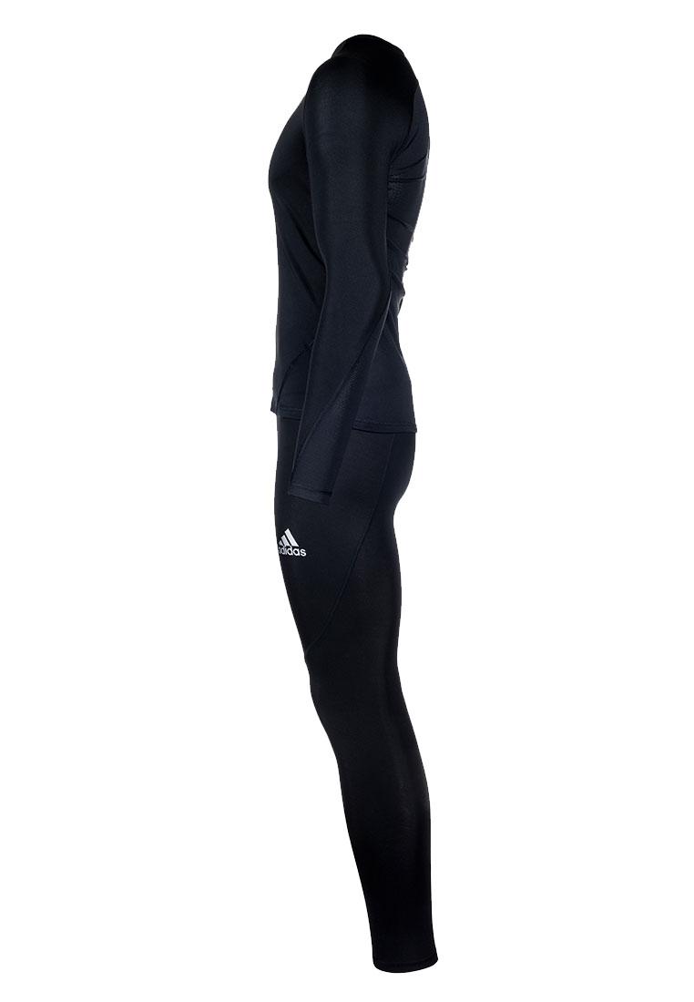 adidas Funktionsset AlphaSkin 3-teilig schwarz/weiß