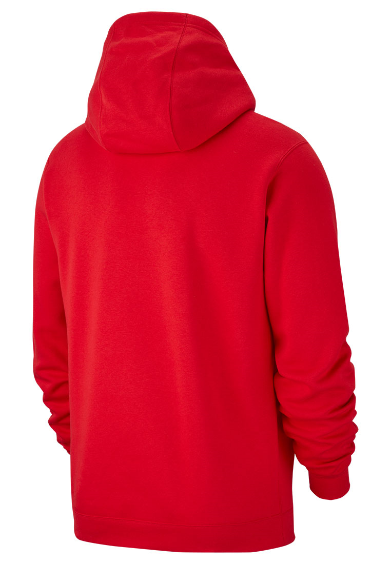 Nike Kapuzenpullover Team Club 19 Fleece Hoody rot/weiß