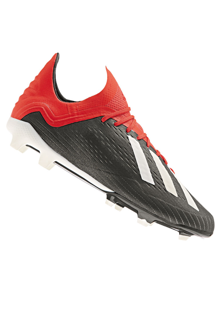 adidas Kinder Fußballschuh X 18.1 FG J schwarz/rot