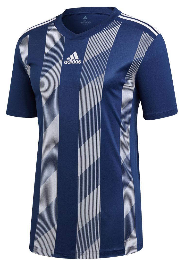 adidas Trikot Striped 19 Jersey dunkelblau/weiß