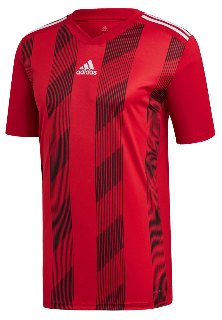 adidas Dressenset Striped 19 rot/weiß