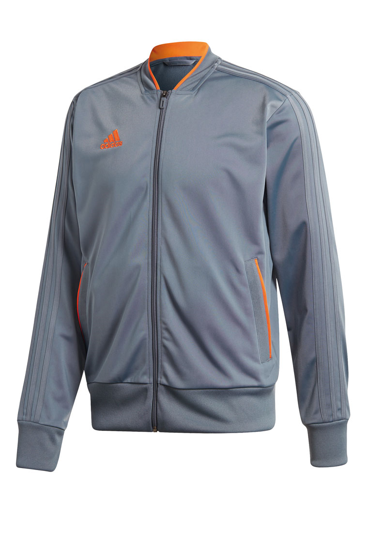 adidas Trainingsjacke Condivo 18 graublau/orange