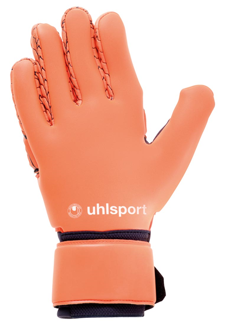 Uhlsport Torwarthandschuhe Next Level Absolutgrip Reflex dunkelblau/rot fluo