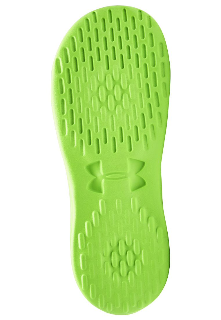 Under Armour Badesandalen Playmaker Fix M SL schwarz/grün fluo