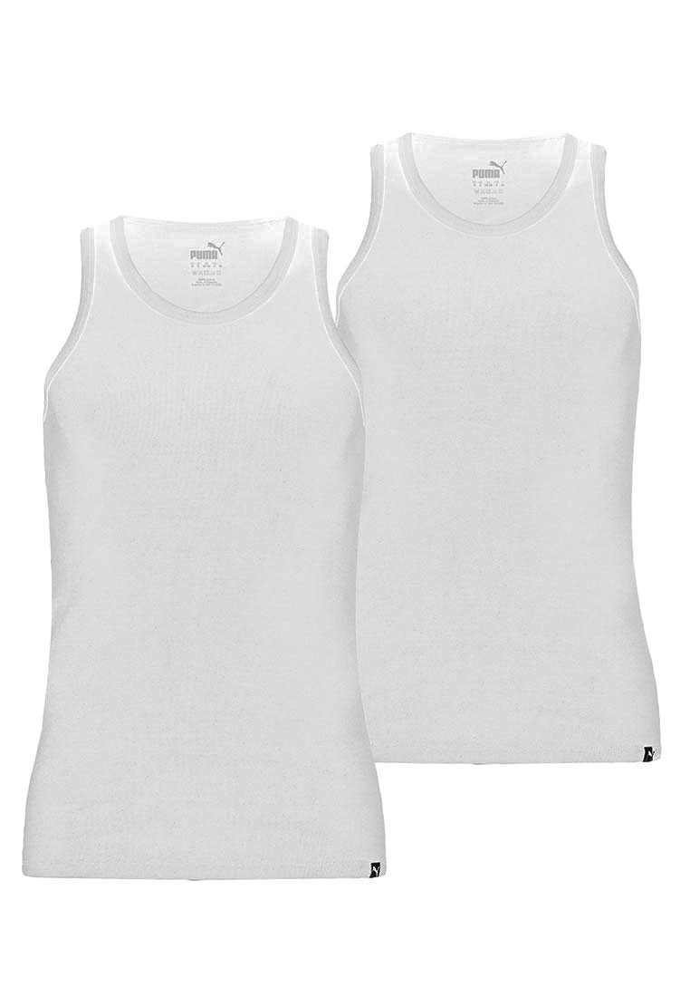 Puma Tank-Top Basic 2er Pack weiß