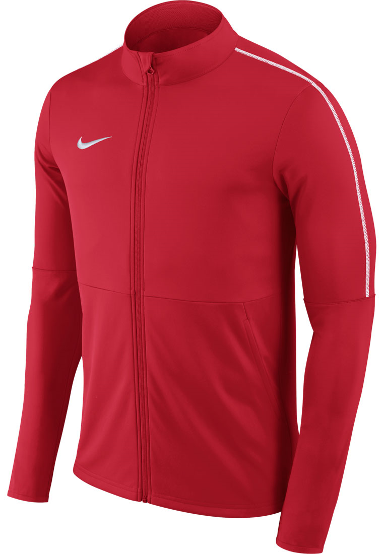 Nike trainingsjas Park 18 Knit Track Jacket rood/wit