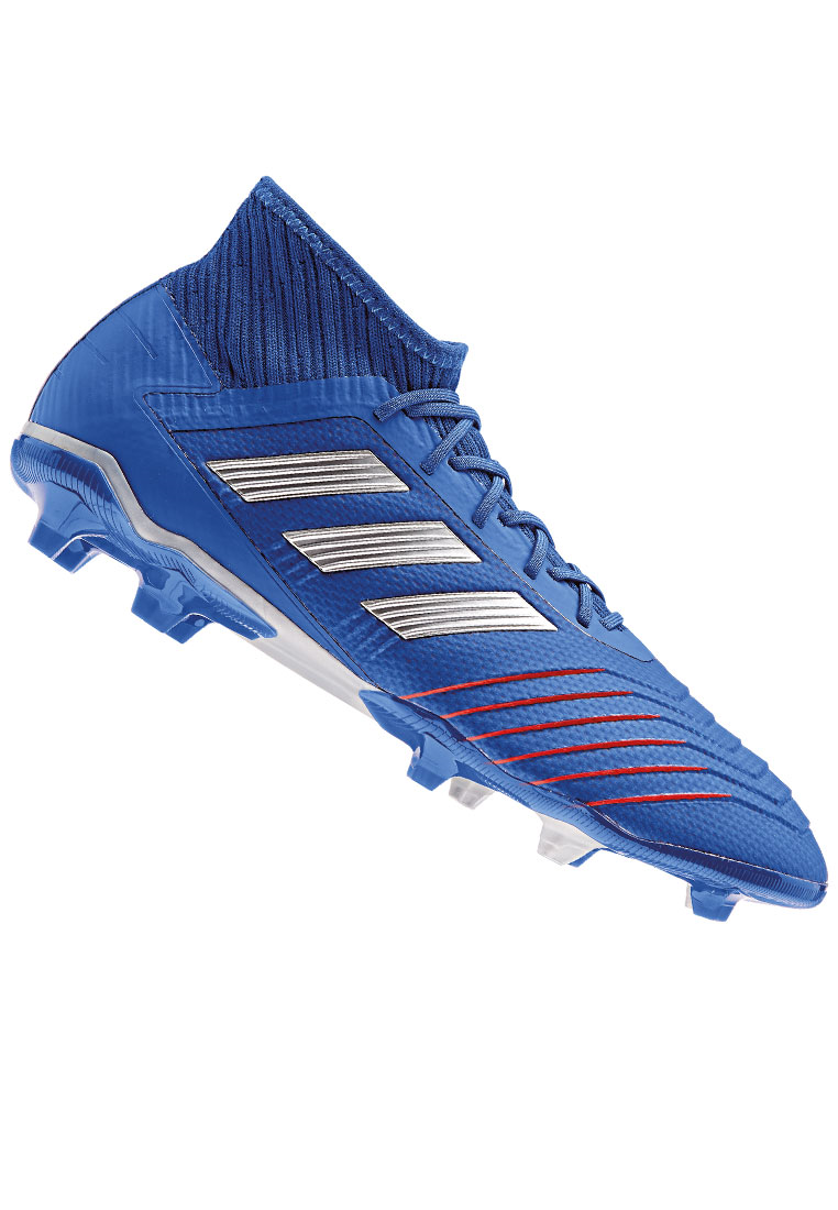 adidas Fußballschuh Predator 19.2 FG blau/silber