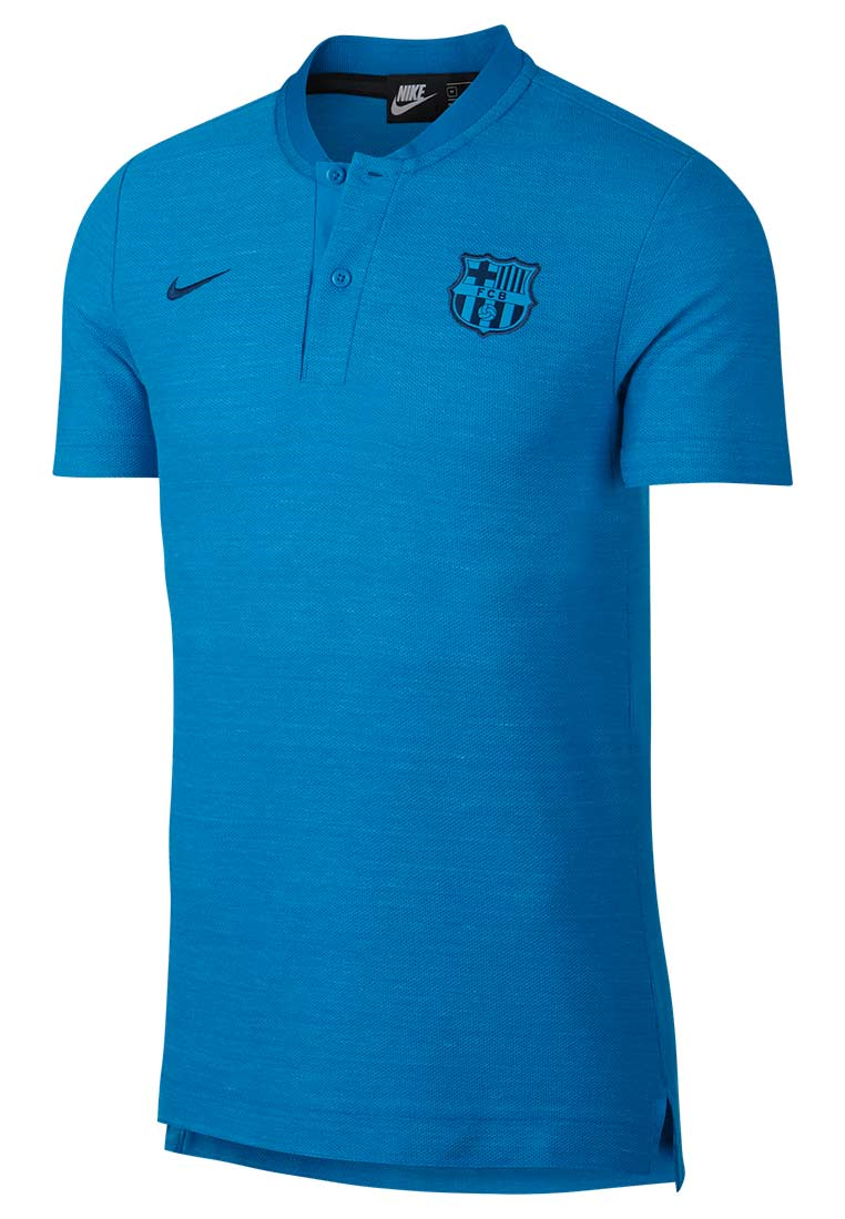 Nike FC Barcelona Grand Slam Polo Authentic himmelblau/blau