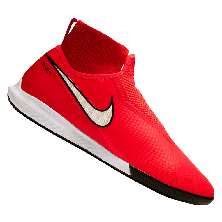 Nike Hallenschuh React Phantom III Vision Pro DynamicFit IC rot/silber