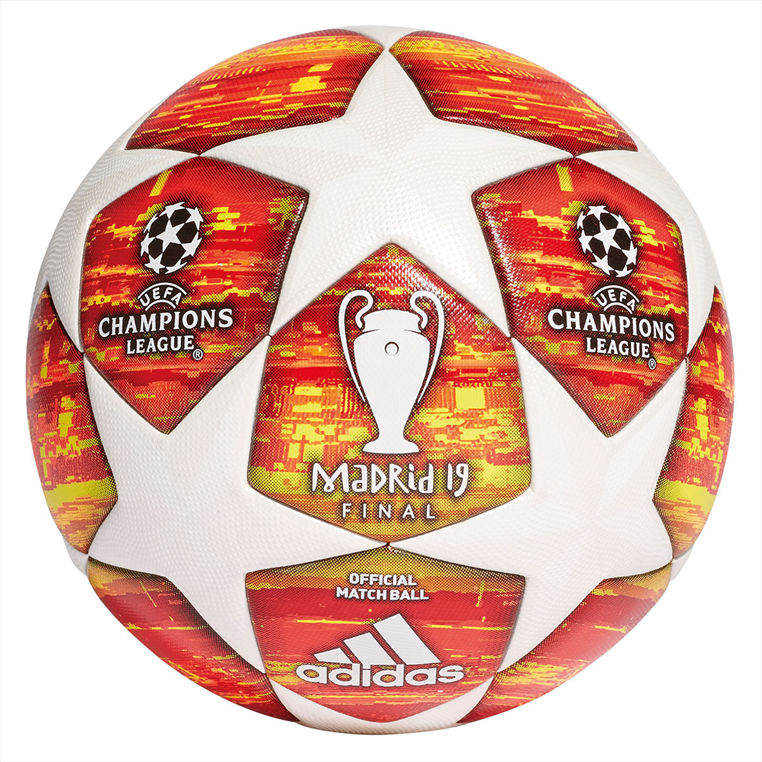 Adidas voetbal Champions League Finale M Madrid 2019 OMB maat 5 wit/oranje
