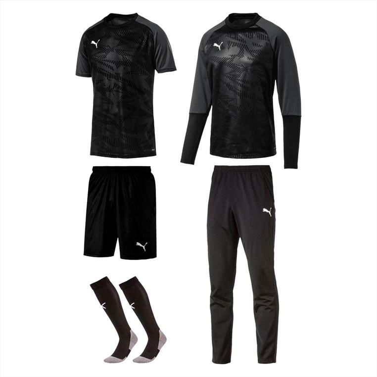 Puma Trainingsset Cup Core 5-teilig schwarz/weiß