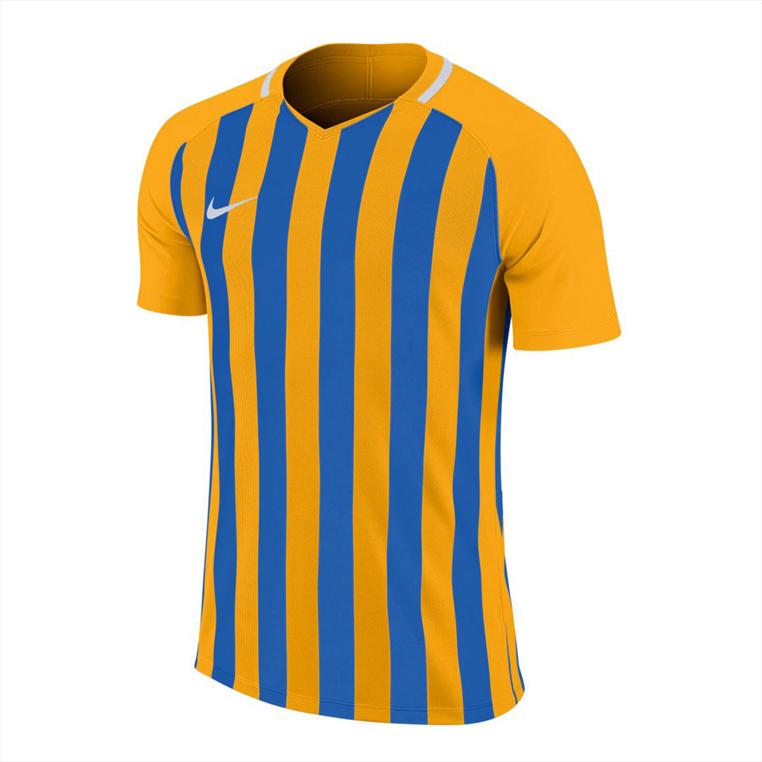 Nike Trikot Striped Division III SS Jersey gelb/blau