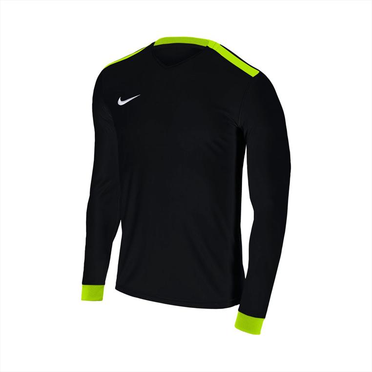 Nike Kinder Langarm Trikot Park Derby II LS Jersey schwarz/gelb fluo