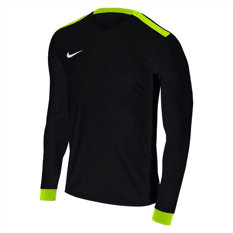 Nike Langarm Trikot Park Derby II LS Jersey schwarz/gelb fluo