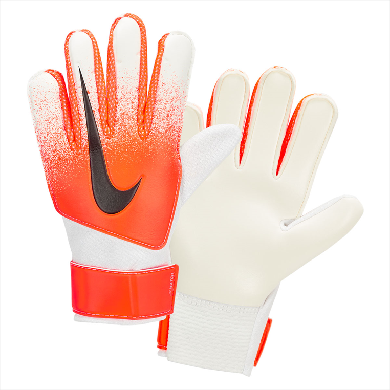 Nike Kinder Torwarthandschuhe Match JR weiß/orange